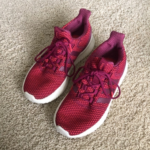 Red adidas CloudFoam Shoes